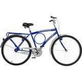 Bicicleta Fischer Barra Super New Aro 26 Masculina Azu Fc
