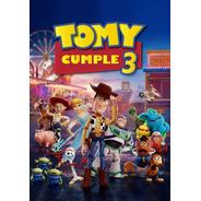 Afiche Toy Story 4 Personalizado - Imprimible