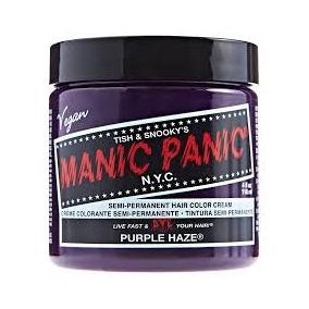 Manic Panic Tinta Semi Permanente Purple Haze Das Famosas