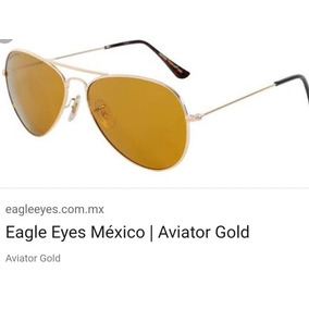 Eagle Eyes Aviator Gold Con Certíficado Autenticidad