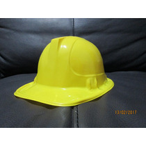 35 Casco Constructor Amarillo Niño Adulto Fiesta Infantil