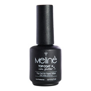 Esmalte Meline Semipermanente Top Coat Glitter Gel Uv/led