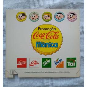 Suporte/caixa Gibis Coca Cola Turma Da Mônica Raro
