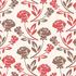 nº 154 Floral Vermelho e Cinza