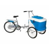 Triciclo De Sorvete Para 400 Picolés L400 - Thermototal