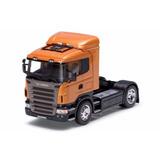 Cavalo Miniatura Caminhão Scania R470 Coleção 1 32 Welly