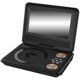 Dvd Portatil C/pantalla 9 Imaco Mod. Dvd910p Negro