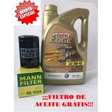 Aceite Sintético Castrol Edge 5w-40 Filtro Gratis Jetta A2