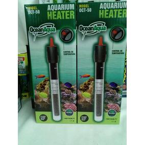 Calentador Termostato Para Acuario Ocean Aqua De 50 W