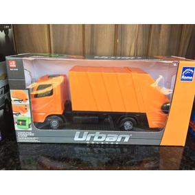 Caminhão De Lixo Urban Coletor Brinquedos Pronta Entrega