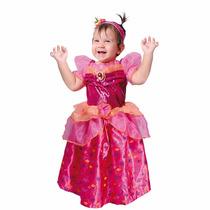 Vestido Disfraz Princesa Diamante Talla 2,
