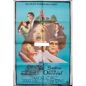 Afiche Original Sombras En La Obscuridad Jonathan Frid 1970