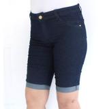 Bermuda Cintura Alta Biotipo 19886 Kalbatt Jeans