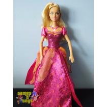 Boneca Barbie Liana Castelo De Diamantes Que Canta Mattel