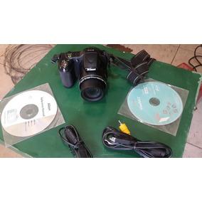 Camara Semireflex Nikon Coolpix L-820 Con Pilas Nuevas