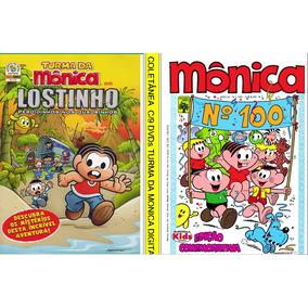 Coletanea Com 9 Dvds Turma Da Monica Gibis Digitalizadas