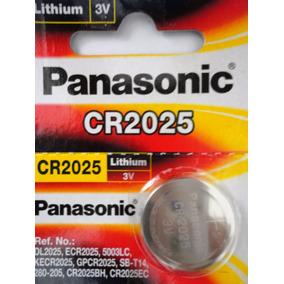 Bateria Panasonic Cr2025 Lithium 3v Original 1 Unidade