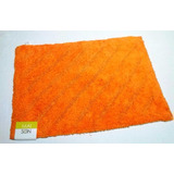 Alfombra Moderna Decorativa Antirresbalante Naranj Importada