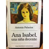 Novela Ana Isabel Una Niña Decente