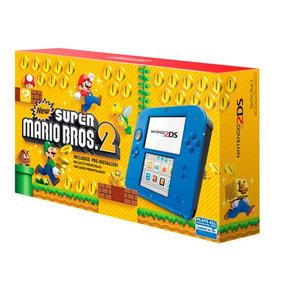 Nintendo 2ds + Jogo Mario Bros 2 Roda 3ds Wifi 4gb Ar Cards