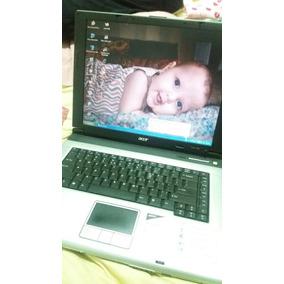 Computador Notebook Acer Funcionando Com Bolsa De Transporte