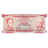 Billete De 5 Bolívares - Enero 29 De 1974 - D8