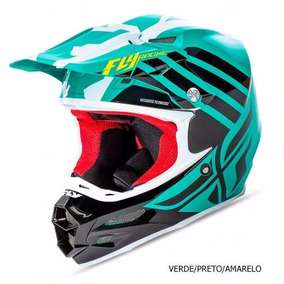 Capacete Fly F2 Zoom Motocross Trilha Enduro Top Ims Asw!!