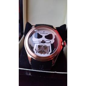 Corum Bubble Skull Rose Gold Turbillion