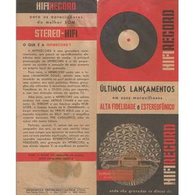 Catalogo De Discos De Vinil Hifirecord Ultimos Lançamentos