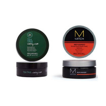 Paul Mitchell Tea Tree Shaping Cream + Mitch Reformer