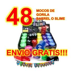 48 Mocos Gorila Juguete Piñata Economico Mayoreo Bolo Barrel