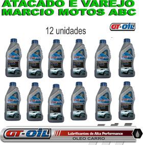 Caixa 12 Litros Oleo Mineral Gt Oil 20w50 Api Sl Motor Carro