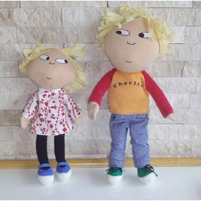 Muñecos Charlie Y Lola Original Casi Nuevos