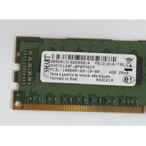 Memoria Smart 4gb Ddr3 1333mhz Ecc Pc3l-10600r-09-10-b0