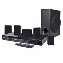 Home Teather Teatro En Casa Rca 5.1 Subwoofer Dvd 1080p Hdmi