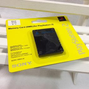 Memory Card De 8mb Ps2 Cabo Av Para Playstation 2