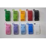 Fecho De Engate Rápido Em Plástico- 260 Unidades Colorida