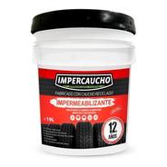 Impermeabilizante Impercaucho 12 Años Cubeta 19 Lts