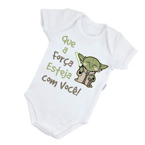 Espada Do Star Wars Yoda - Roupas de Bebê no Mercado Livre Brasil 855f7e272fa