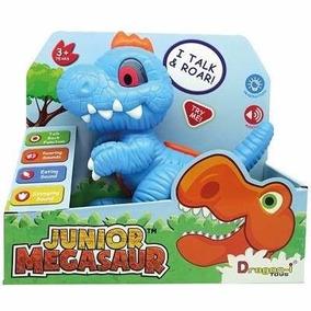 Junior Megasauro Dino Interativo T-rex Com Luz E Som