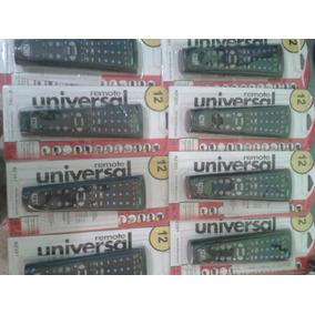 Controles Remotos Universales Tv,cable,vcr,sat,aux,dvd Cd