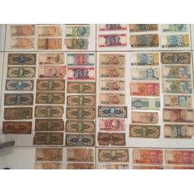 Notas De Dinheiro Antigos 144 Cédulas