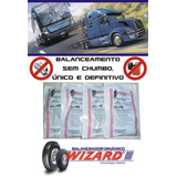 Balanceamento Sem Chumbo Caminhão Ônibus Rodas 1100 Aro 22