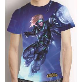 Camisa League Of Legends Ezreal Pulsefire Estampa Total Lol