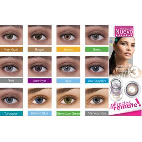 Lentes De Contacto Cosmeticos Freshlook Tricolor Semestrales