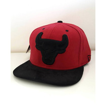 Boné Snapback Aba Reta Chicago Bulls Basquete