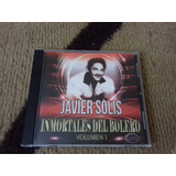 Cd De Musica Javier Solis,inmortales Del Bolero !!!
