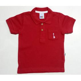 Camisa Polo Bebê Puc - Medidas Logo Abaixo - Cod 2370/1