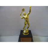 Troféu De Tenista (25 Cm.)