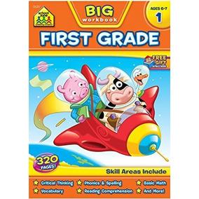 Primer Grado Gran Libro De Trabajo! (edades 6-7)